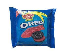 Nabisco Oreo Swedish Fish Sandwich Cookies Limited Edition 10.7oz New #Nabisco  Swedish Fish... Yum!!!
