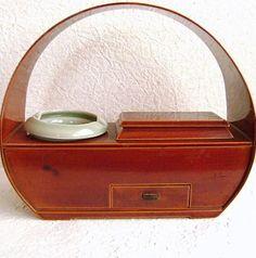 Vintage Japanese Tea Ceremony Smoking Set