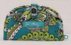 Vera Bradley Peacock Mini Jewelry Pouch Ring Roll Travel Case NWT SB0304 #VeraBradley