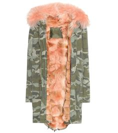 72a9d13d8f68 MR  amp  MRS ITALY Cotton Parka With Fur Lining.  mrmrsitaly  cloth