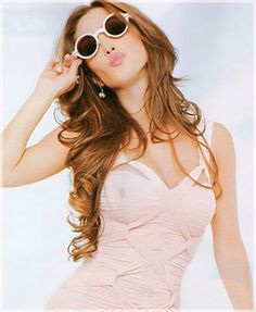 Anahi Sunglasses and Hair