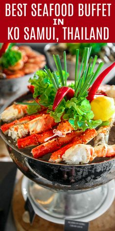 Best seafood buffet in Ko Samui, Thailand. Vana Belle Resort. #sponsored #SPG #SPGlife #luxurycollection #Starwood #hotels