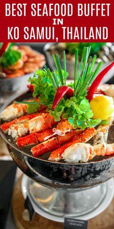 Best Seafood Buffet In Ko Samui Thailand Vana Belle Resort Sponsored