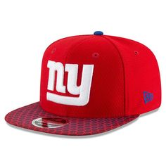 New York Giants New Era Youth 2017 Sideline Official 9FIFTY Snapback Hat -  Red -  31.99 4e10e5322