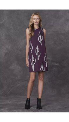 618cbd076105e Stevie May Succulence Cactus Print Mini Dress - Talis Australia Online  Retail
