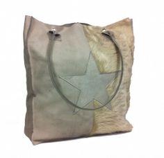 Leather star bag
