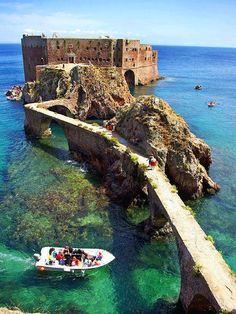 Saint John de Baptist Kalesi, Berlenga Adası, Portekiz