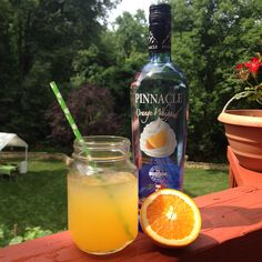 A couple options to flip the script on your screwdriver:   1. Pinnacle orange whipped + ginger ale + a splash of fresh-squeezed orange juice.  2. Equal parts orange whipped vodka, club soda, and OJ.  VOILA! Liquid Creamsicle.