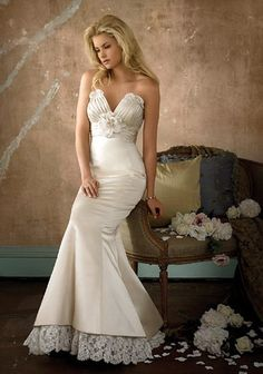 My favorite ever. Beautiful Alvina Valenta Mermaid Wedding Dresses