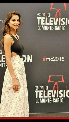 Catalina Denis en el Festival de Tv de Montecarlo