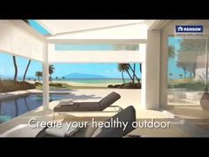 Terrace cover, pergola Lagune - YouTube