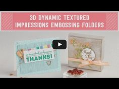 New Stampin' UP! Product Video Tutorials, part 2 - Patty's Stamping Spot