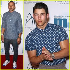 #Nick Jonas' Bulging Muscles Pop Out of His Shirt in Vegas! --- More News at : http://RepinCeleb.com  #celebnews #repinceleb #JesseWilliams, #Music, #Newsroom, #NickJonas