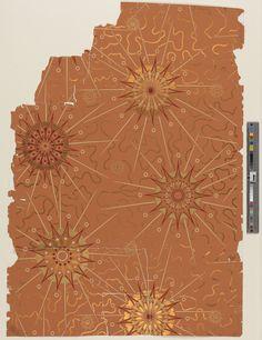 1985.26.191 - Wallpaper ; Wallpaper | 1985.26.191 -- Historic New England
