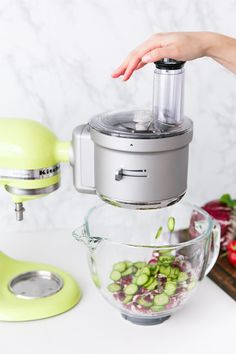 Merveilleux Use The KitchenAid® Food Processor Attachment To Dice, Slice, Shred, And  Julienne