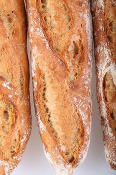 One of our absolute favorite recipes: the 80% hydration baguettes (with video). Might try this