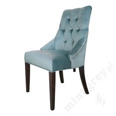 MINT GREY New York Style Interiors | produkty - meble; Krzesło HUDSON; Stylish Quilted Chair