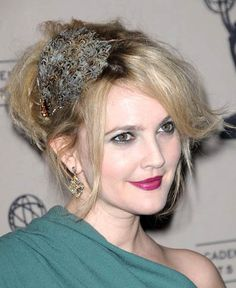 Drew Barrymore www.haircomesthebride.com