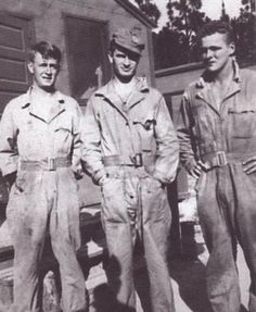 Skip Muck, Joe Toye, and Donald Malarkey - 506th PIR, Easy Company