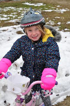 7AM Kids WarmMuffs - trade in the gloves for muffs made just for bikes and scooters.