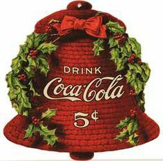 Coca Cola Christmas bell