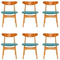 1stdibs | Hans Wegner CH-30 Dining Chairs $4170