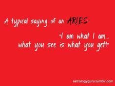 So true!!! Love me or hate me.