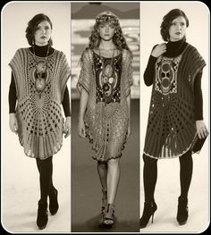 CROCHET FASHION TRENDS Anna Sui designer tunic от SweetKipod, $150.00