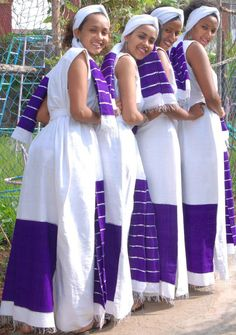 Cute Oromo women, culture and fashion  Oromia, East Africa