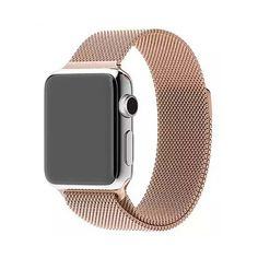 Iuhan Newest Replacement Watch Band Strap For Apple Watch All mesh bracelets passed Pulling Force Test. Easy to adjust the length to fit your wrist. Band Length: Compatible for Apple Watch Package Watch Band. Apple Watch 42mm, Apple Watch Bands, Apple Watch Silver Band, Accessoires Iphone, Apple Watch Accessories, Wearable Technology, Smartwatch, Sport Watches, Stainless Steel Bracelet