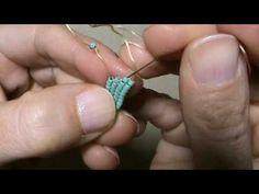 Öğretici Video - Kareleme / Elde Dokuma Tekniği Nasıl Yapılır? (How To Make a Square Stitch?) - YouTube