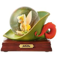 Tinkerbell Snowglobe, I will need a whole shelf installed just for my Tinkerbell snowglobes, picture frames and figurines *