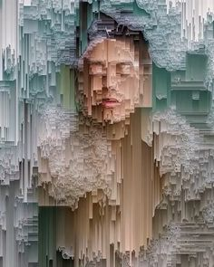 How does this make you feel? Glitch art by @ikatch_ . Follow us @arts.hub for more!