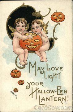 May Love Light Your Hallow-E'en Lantern! H.B. Griggs (HBG)