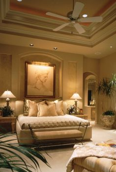 Gorgeous bed room design idea  #home #bed room #designs
