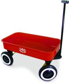 Metall Bollerwagen.