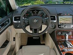#Volkswagen Touareg 2013 interior http://www.vwofpeoria.com/models/volkswagen-touareg