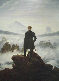 """Mar de Nubes"", Friedrich"
