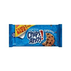 Nabisco Chips Ahoy! Original Chocolate Chip Cookies, 18.2 oz... ($3.66) ❤ liked on Polyvore featuring food and food and drink