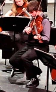 Violin Fail. 17 GIFs That Prove How Hard It Is to Make It in the Music Business