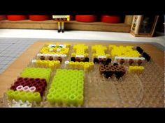 アイロンビーズなスポンジ・ボブ 拼拼豆豆海綿寶寶 3D PERLER BEADS(3).MOV - YouTube
