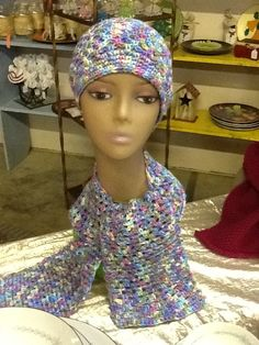 Scarf and Hat Set by SewNeatAndThingsShop on Etsy