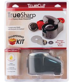 True Sharp Sharpener (sharpens rotary blades) on my wishlist - online only