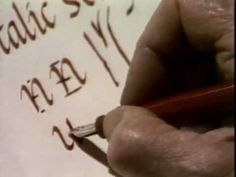 In 1968, Lloyd Reynolds was selected in the Men Who Teach series to make 20 half-hour TV programs on italic calligraphy and handwriting for the Oregon Educat...