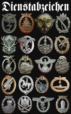 Several combat and other awards Military Awards, Military Ranks, Military Insignia, Military History, German Soldiers Ww2, German Army, War Tattoo, Germany Ww2, German Uniforms