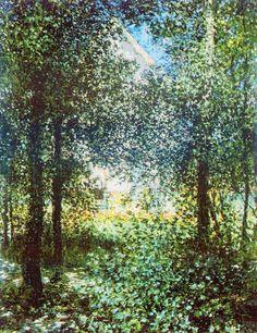 Les Broussailles, la maison d'Argenteuil (C Monet - W 409),1876.