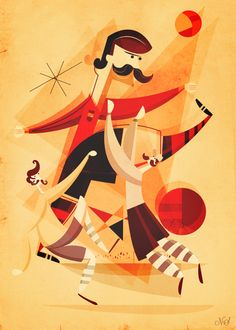 España 82By Neil Stevens I've really enjoyed creating these World Cup illustrations and as the characters have developed the more the ...