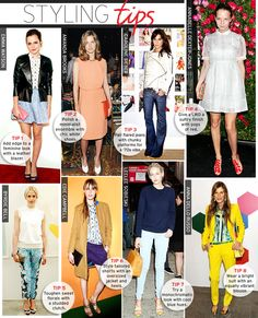 Styling Tips-May via @WhoWhatWear