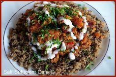 Self Sufficient Cafe: Winter Wellness - Part 3. Tofu chilli