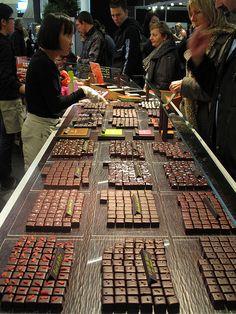Salon du Chocolat , Paris, France